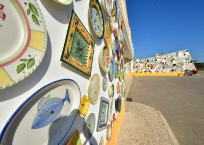 Teller-Verkauf auf portugiesisch (bei Sagres, Algarve)