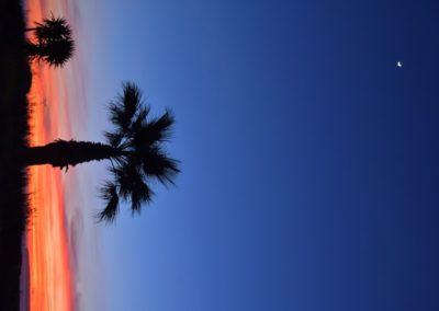 Blaue Stunde in Zahara de los Antunes
