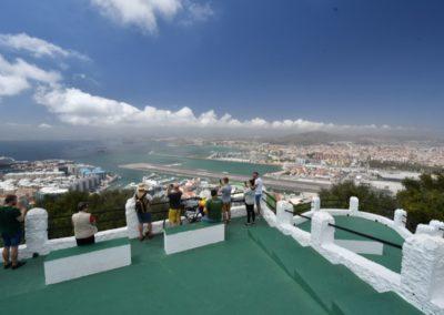 Gibraltar (UK) - Rundblick aus halber Höhe