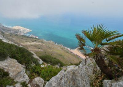 Gibraltar, die landschaftlich gefälligere Ostseite der Halbinsel
