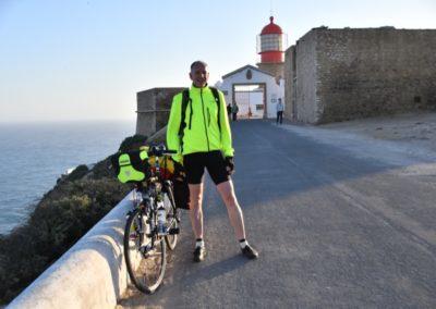 Portugal, Cabo de Sao Vicente - Ein weißer Hai aus Düsseldorf startet zu seiner Trans-Europa-Tour