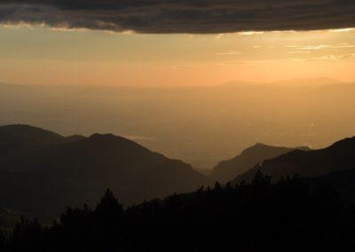 Spanien, Andalucia, Blick aus der Berghütte Universitario Sierra Nevada 2500 m