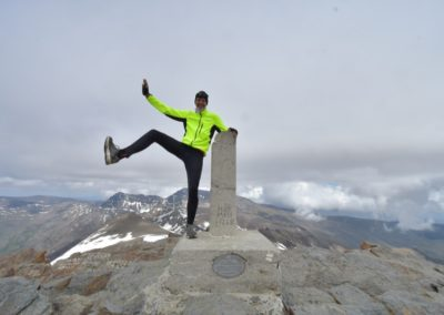 Spanien, Andalusien, Pico de Veleta 3396 m