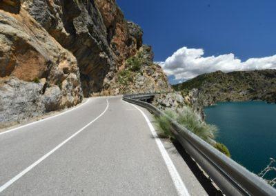 Spanien, Andalusien, Sierra Nevada, Embalse de Quentar