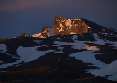 Spanien, Andalusien, Sierra Nevada, Spaniens 4.höchster Gipfel, der Pico de Veleta 3396 m