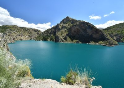 Spanien, Andalusien, Sierra Nevada, Stausee bei Quentar