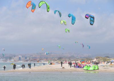Spanien, Playa de Palmones in derr Bucht von Algeciras
