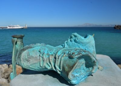 Spanien, Tarifa, Meerenge von Gibraltar