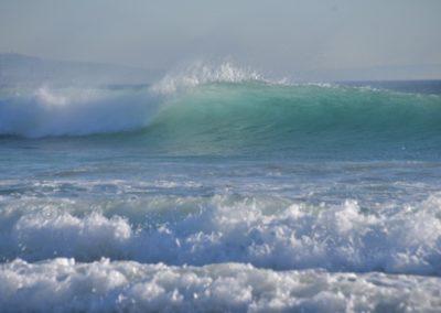 Spanien, Tarifa, Meeresrauschen