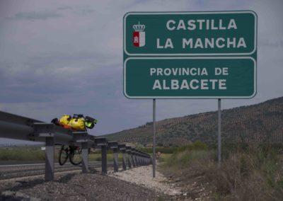 Spanien, die erste innerspanishe Grenze zwischen 2 Provinzen